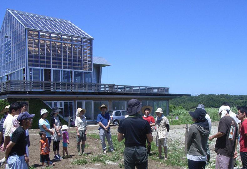 環境循環型施設、家を作る。-NPO法人ミレニアムシティ くりもとミレニアムシティ